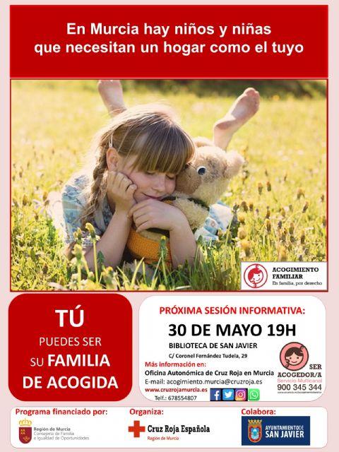 Cruz Roja promueve en San Javier el acogimiento familiar de menores tutelados por la Administración - 2, Foto 2