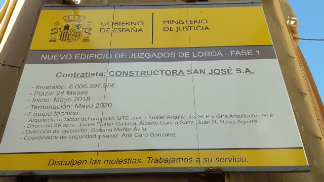 Fulgencio Gil: hoy ya estaría funcionando el nuevo Palacio de Justicia - 2, Foto 2