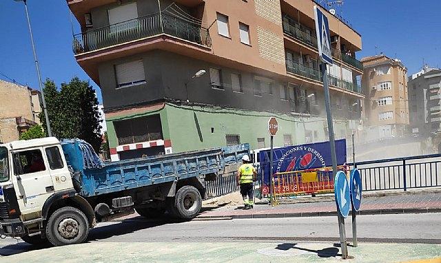 Saorín informa del comienzo de las nuevas obras de cubrimiento de la rambla de El Realejo - 1, Foto 1