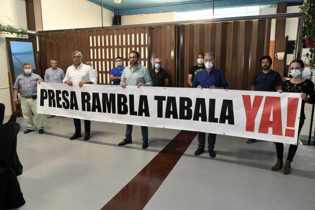 La plataforma Rambla de Tabala denuncia su preocupación por el estado actual del cauce del Reguerón - 1, Foto 1