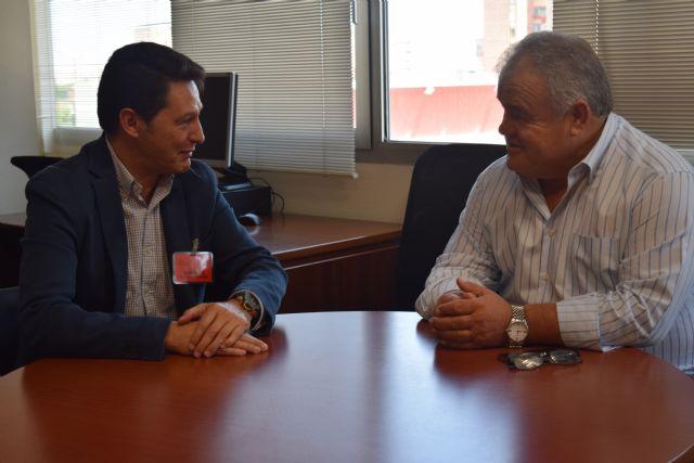 Reunión del diputado Juan Pagán con ECOEMBES