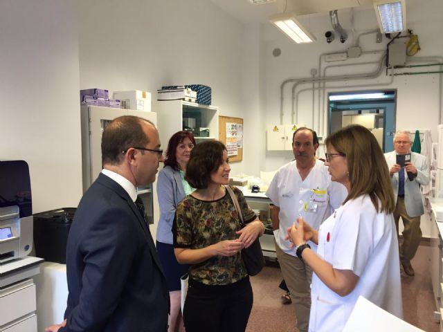Visita al Laboratorio de Investigación Biomédica - 1, Foto 1