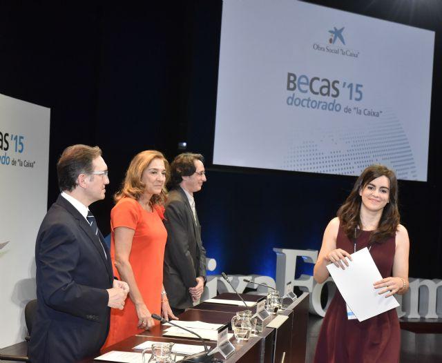 Cuatro estudiantes de Murcia reciben una beca de la Caixa para cursar doctorados en universidades y centros de investigación de referencia de España - 4, Foto 4