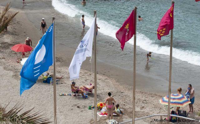 Cartagena se mantiene como el municipio con más banderas azules del Mediterráneo - 1, Foto 1