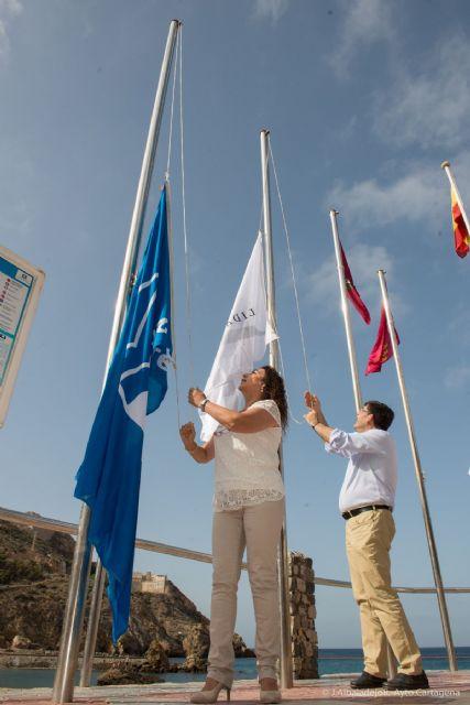 Cartagena se mantiene como el municipio con más banderas azules del Mediterráneo - 2, Foto 2
