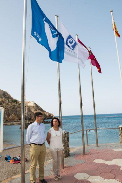 Cartagena se mantiene como el municipio con más banderas azules del Mediterráneo - 5, Foto 5