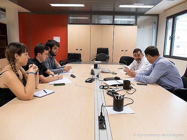 El Gobierno local y el Consejo de Estudiantes de la UPCT encuentran vías de colaboración - 1, Foto 1