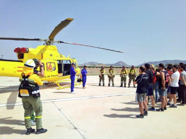 Voluntarios de Protección Civil reciben formación para una mejor vigilancia antiincendios forestales, Foto 2