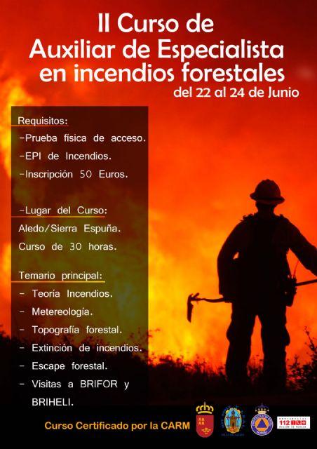 Voluntarios de Protección Civil reciben formación para una mejor vigilancia antiincendios forestales, Foto 3