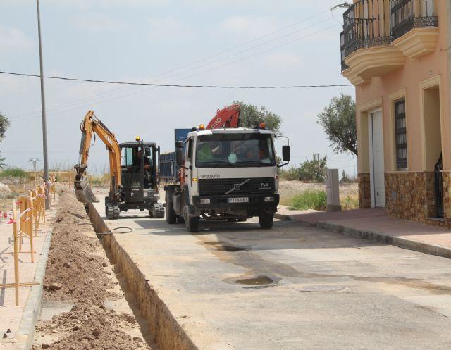 El Ayuntamiento de Puerto Lumbreras ejecuta obras de mejora en la red de abastecimiento de agua - 1, Foto 1