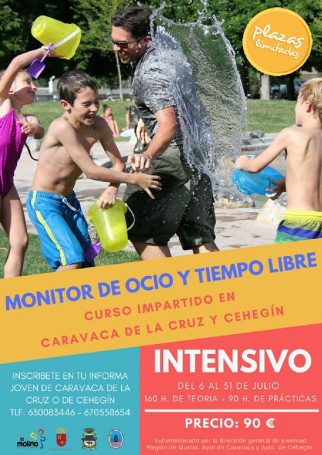 Los ayuntamientos Caravaca y Cehegín ofertan un curso para obtener la titulación oficial de Monitor de Ocio y Tiempo Libre - 1, Foto 1