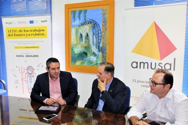 Ayuntamiento de Alcantarilla y AMUSAL suscriben un convenio de colaboración para los dos próximos años - 1, Foto 1