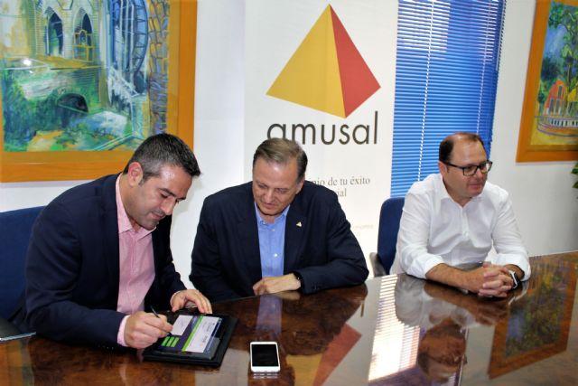 Ayuntamiento de Alcantarilla y AMUSAL suscriben un convenio de colaboración para los dos próximos años - 2, Foto 2