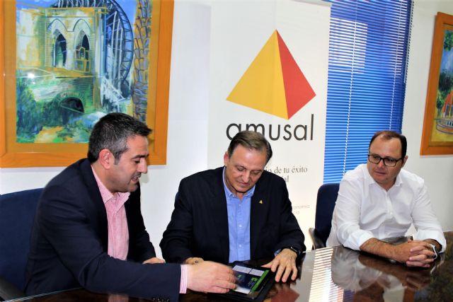 Ayuntamiento de Alcantarilla y AMUSAL suscriben un convenio de colaboración para los dos próximos años - 3, Foto 3