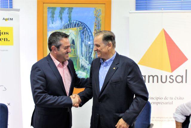 Ayuntamiento de Alcantarilla y AMUSAL suscriben un convenio de colaboración para los dos próximos años - 4, Foto 4