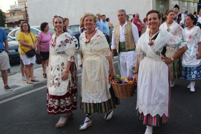 Los pinatarenses ofrecen frutos de la huerta a su patrón San Pedro - 1, Foto 1