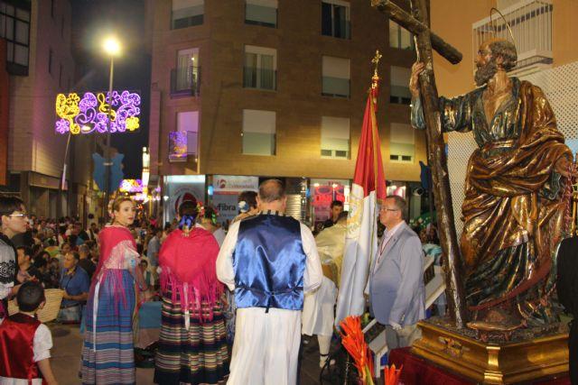 Los pinatarenses ofrecen frutos de la huerta a su patrón San Pedro - 4, Foto 4