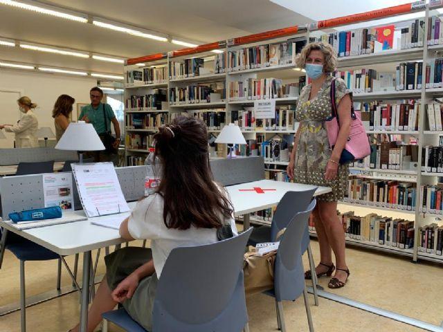 Las Bibliotecas de Murcia abren con 208 puestos para el estudio y consulta en sala - 2, Foto 2