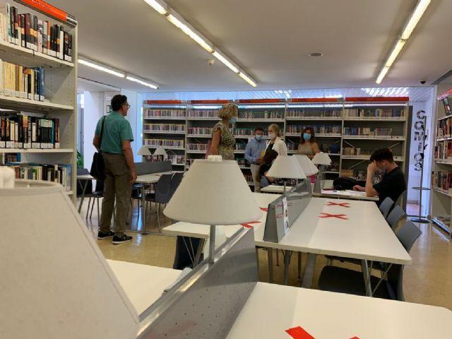 Las Bibliotecas de Murcia abren con 208 puestos para el estudio y consulta en sala - 3, Foto 3
