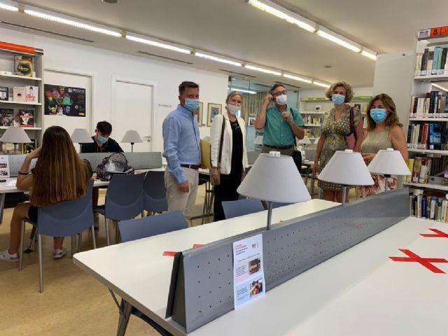 Las Bibliotecas de Murcia abren con 208 puestos para el estudio y consulta en sala - 4, Foto 4