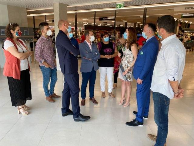 Apertura de las nuevas instalaciones del supermercado Mercadona en Torre Pacheco - 1, Foto 1