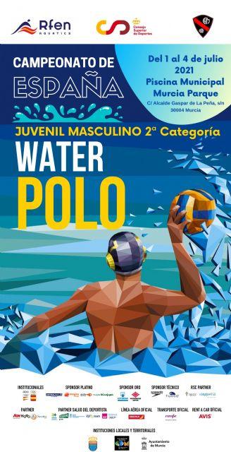 El Club Waterpolo Murcia, seleccionado por la Real Federación Española de Natación como sede organizadora del Campeonato de España Juvenil Masculino de Waterpolo - 1, Foto 1