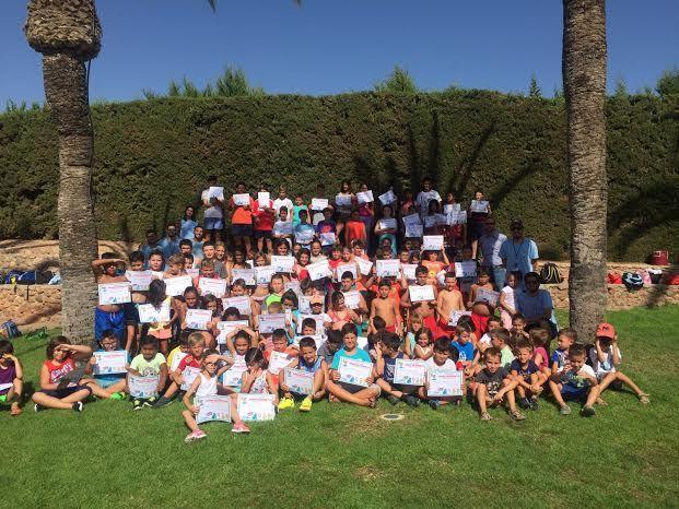 Un total de 145 niños participan en la segunda quincena de julio del