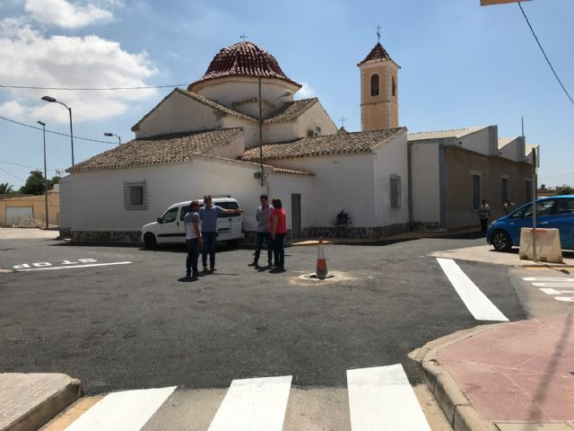Finalizan las obras de pavimentación en el centro urbano de El Jimenado - 1, Foto 1