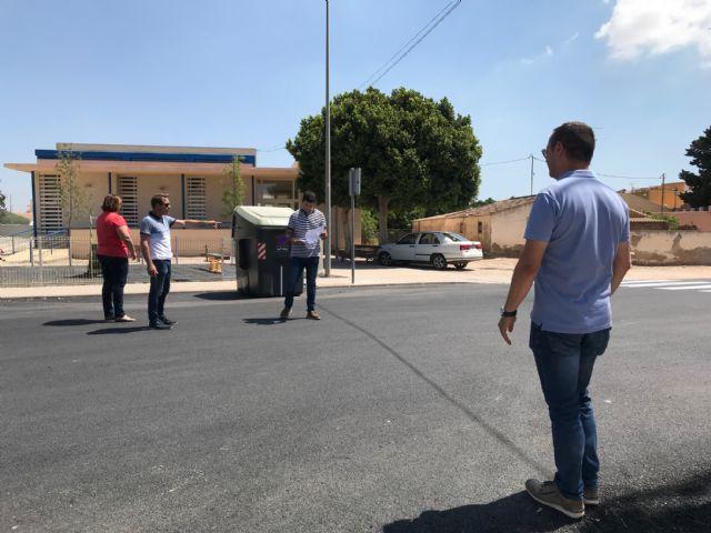 Finalizan las obras de pavimentación en el centro urbano de El Jimenado - 2, Foto 2