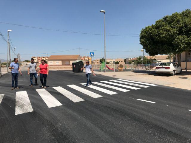 Finalizan las obras de pavimentación en el centro urbano de El Jimenado - 3, Foto 3