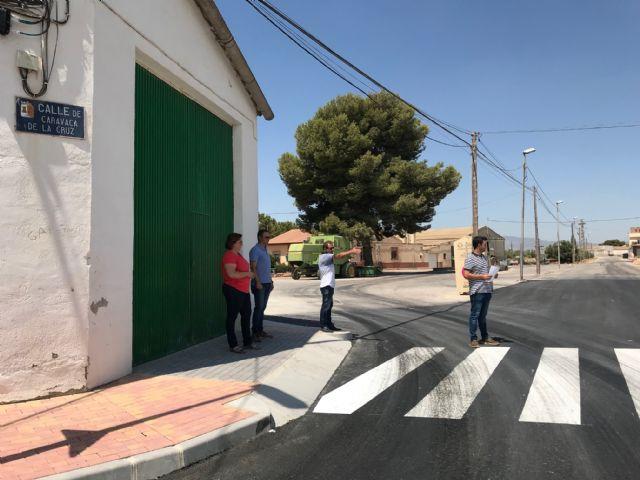 Finalizan las obras de pavimentación en el centro urbano de El Jimenado - 4, Foto 4