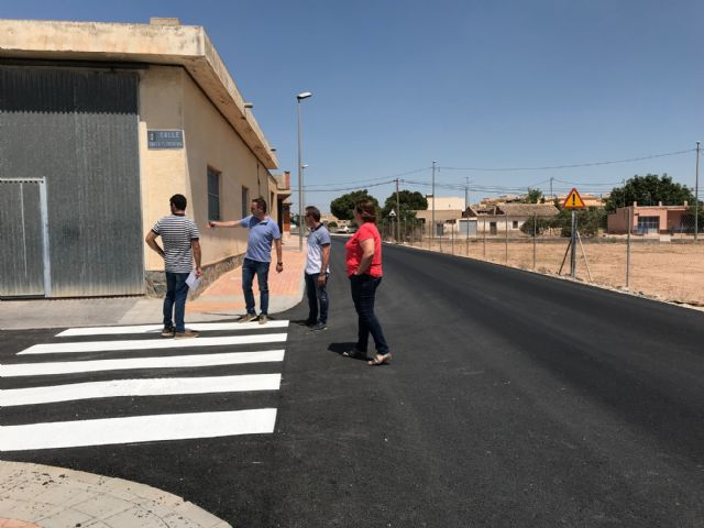 Finalizan las obras de pavimentación en el centro urbano de El Jimenado - 5, Foto 5