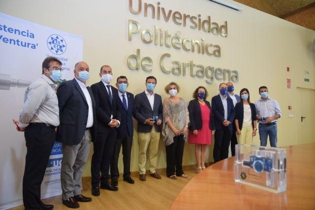 FREMM y Tecsumaga entregan a la UPCT el primer respirador sanitario para enfermos de coronavirus - 1, Foto 1