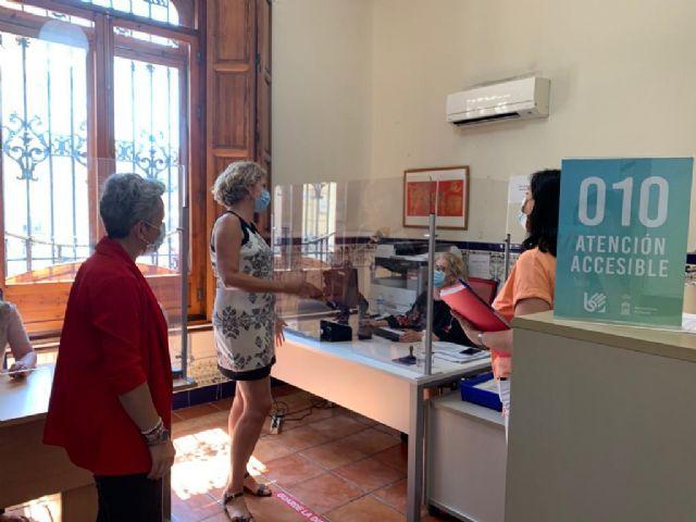 Las oficinas de Atención Ciudadana de Cabezo de Torres y Beniaján abren mañana bajo cita previa - 1, Foto 1