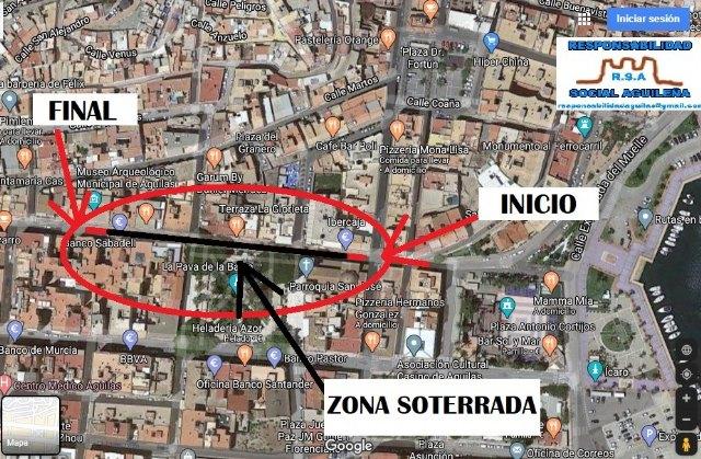 Responsabilidad Social Aguileña propone que se estudie soterrar parte de la Calle Conde de Aranda - 1, Foto 1