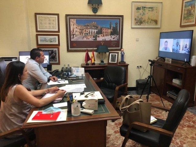 El Alcalde y la Concejala de Turismo se reúnen con el Director de Turismo de la Región de Murcia - 1, Foto 1
