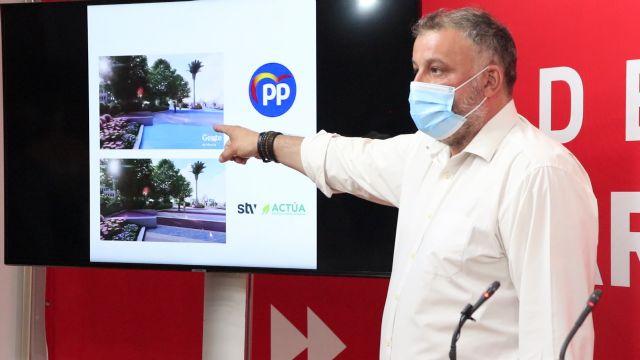 El PSOE afirma que el uso de vídeos de STV-ACTÚA para la campaña de Ballesta le inhabilitan para seguir como alcalde - 1, Foto 1