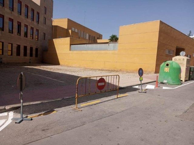 Habilitan como aparcamiento disuasorio el solar de la calle Santa Bárbara, existente entre el Centro de Salud y los Juzgados - 2, Foto 2