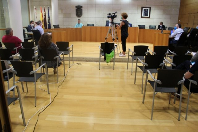 The Plenary addresses tomorrow the taking of reason for the resignation of Councilor María Dolores García Martínez from her institutional position