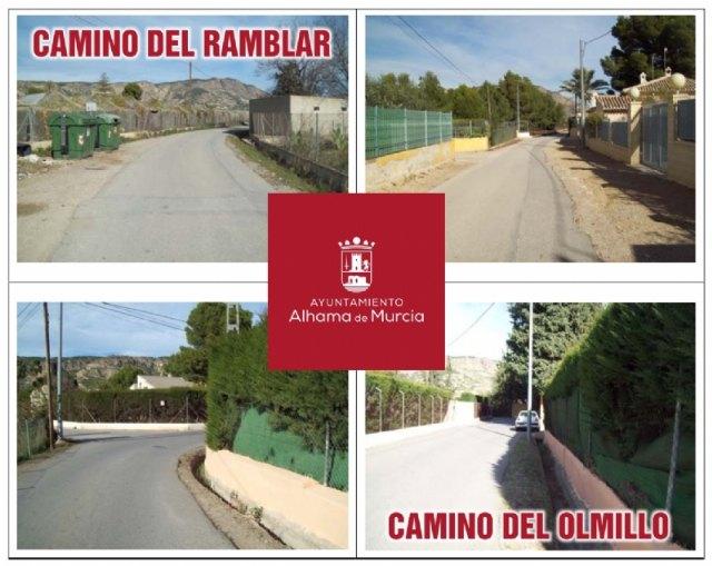 Adjudicadas las obras para la mejora de la seguridad en el camino del Ramblar y el Olmillo, Foto 1