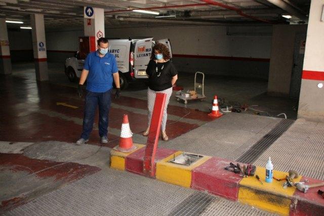El parking municipal abrirá al público en septiembre, tras las obras de remodelación, Foto 1