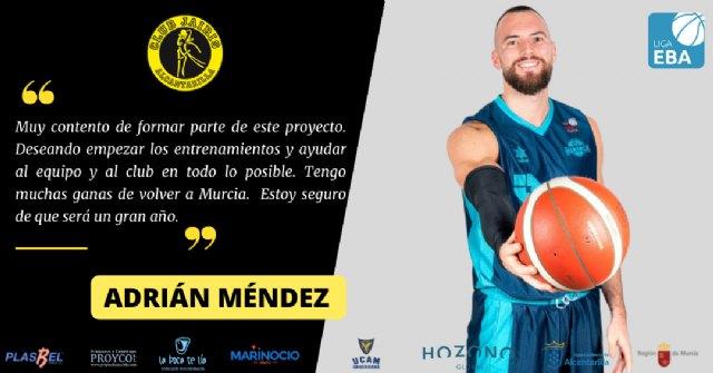 Adrián Méndez se une al proyecto del Hozono Global Jairis de Liga EBA - 1, Foto 1
