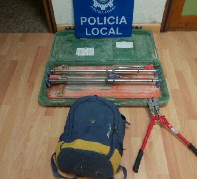 Detenido el presunto autor de un robo en una obra - 1, Foto 1