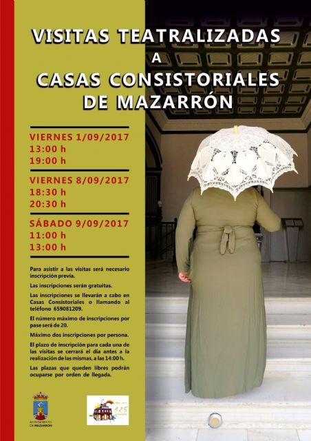 Las visitas teatralizadas a Casas Consistoriales abren la semana de programación de su 125 aniversario - 2, Foto 2