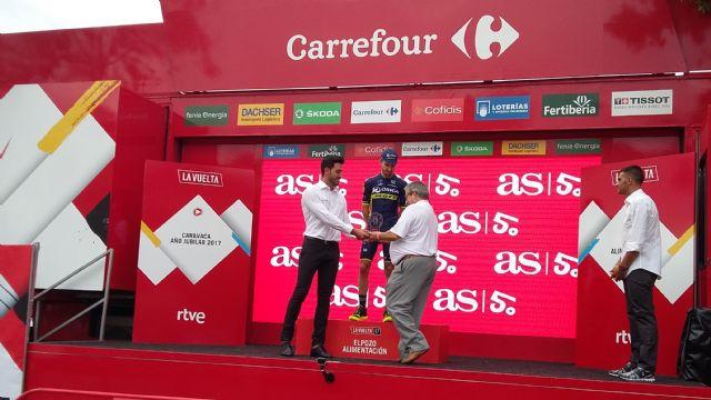 ElPozo Alimentación acoge con éxito la décima etapa de La Vuelta a España en sus instalaciones, Foto 2