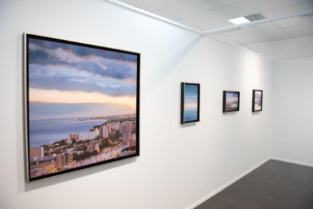 Navarro Menchón ofrece una visita guiada a su exposición de la Casa del Mar, Foto 3