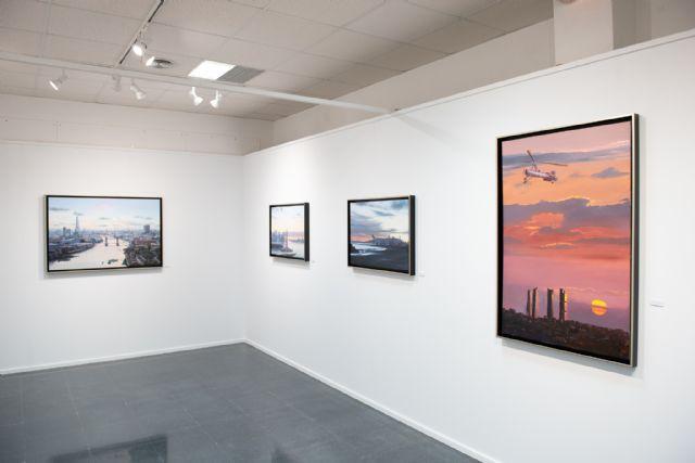 Navarro Menchón ofrece una visita guiada a su exposición de la Casa del Mar, Foto 4