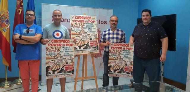 'Caravaca Power Pop' se celebra el 13 de octubre con cinco conciertos, presentaciones de libros y pinchadas de vinilos - 1, Foto 1