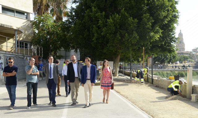 El Ayuntamiento inicia las obras del paseo fluvial de 20.000 m2 que vertebrará ´Murcia Río´ - 2, Foto 2