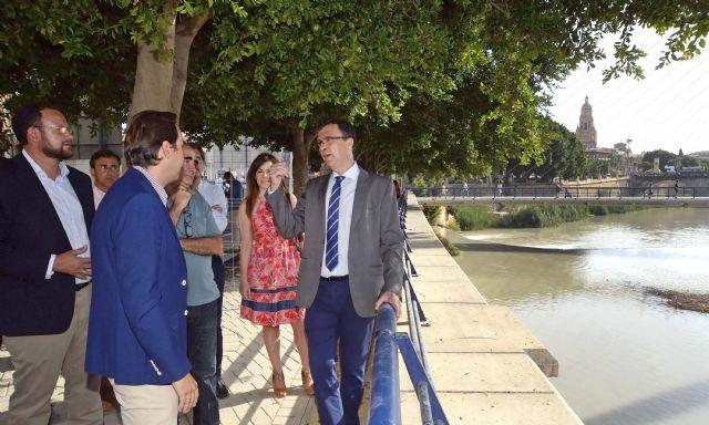 El Ayuntamiento inicia las obras del paseo fluvial de 20.000 m2 que vertebrará ´Murcia Río´ - 4, Foto 4